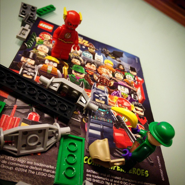 #Lego #DC #SuperHeroes #Riddler and the #Flash