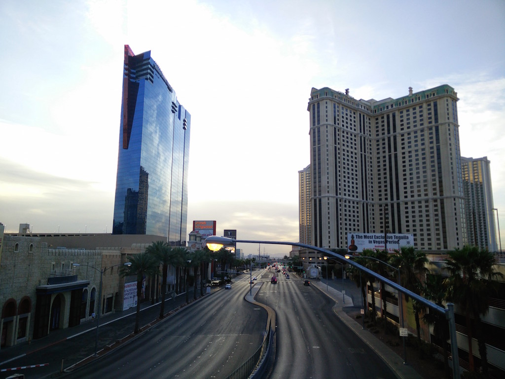 Die etwas andere Laufstrecke: Las Vegas