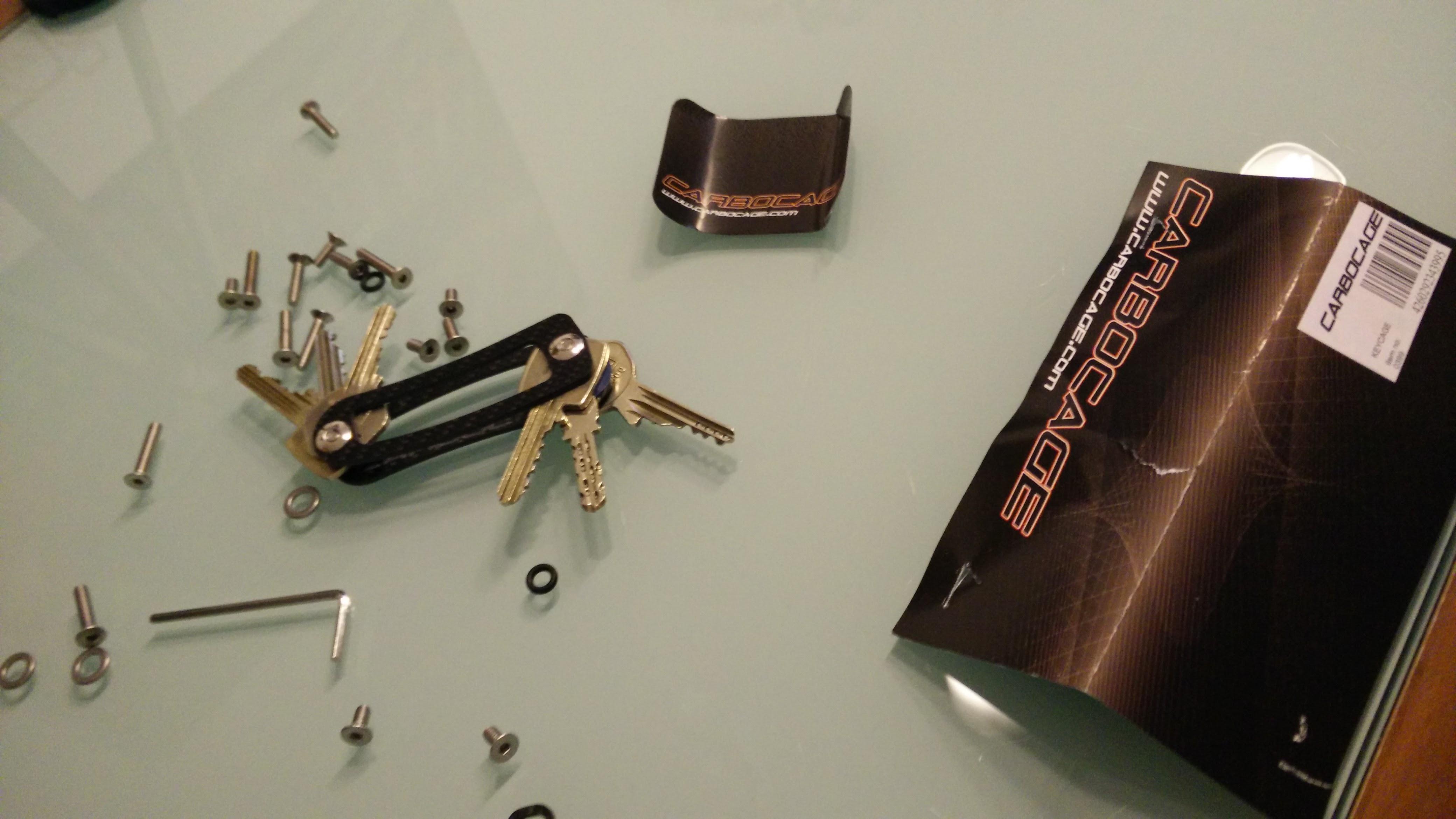 Keycage – Taschmesser Schlüsselbund