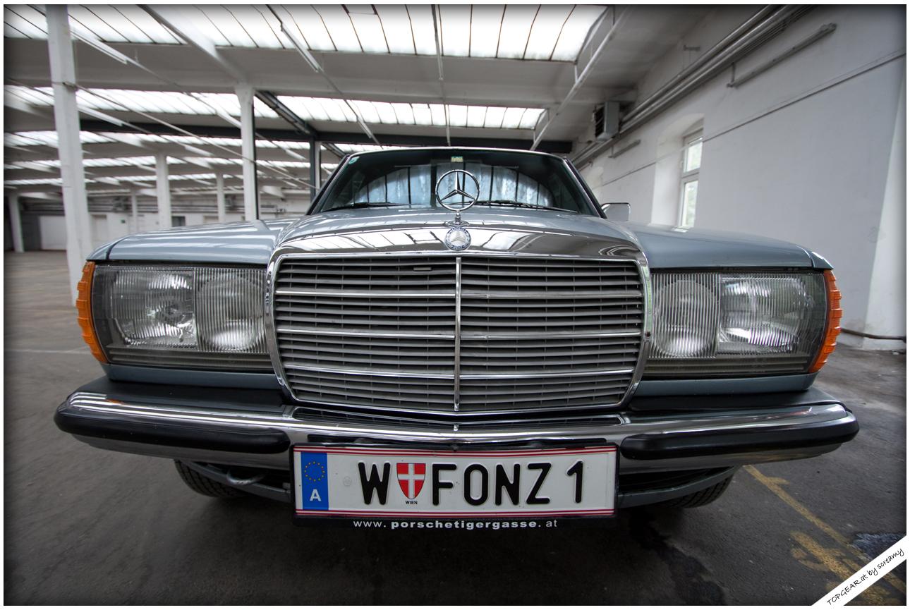 Der einsame Benz