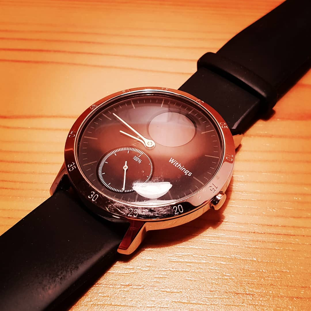 Hello Beauty! #smartwatch #wearable #withings #nokia #health @withings #withingssteelhr