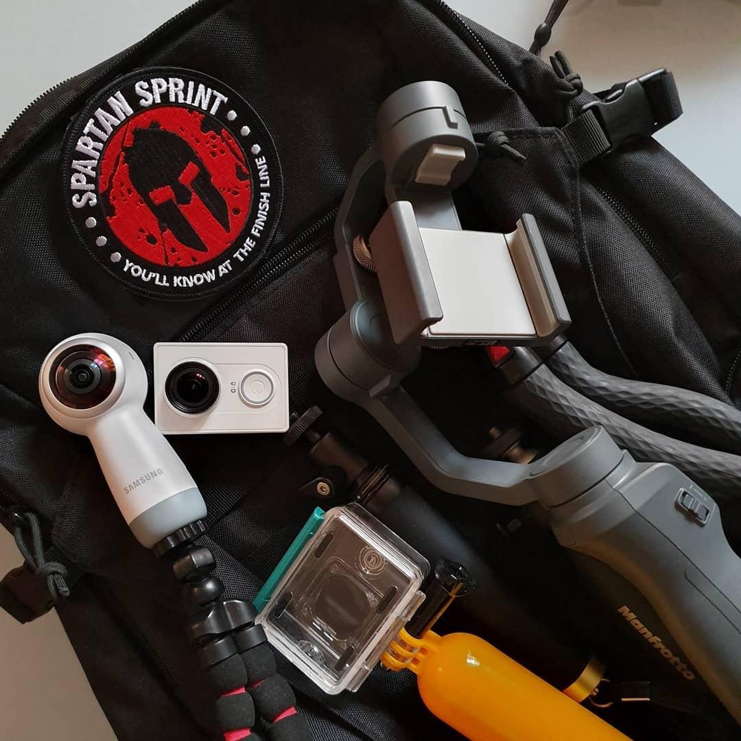 Ich hab sicher wieder zuviel #camera #gear mit im #urlaub. Aber wie oft ist man schon in @disneylandparis 😍😁📸