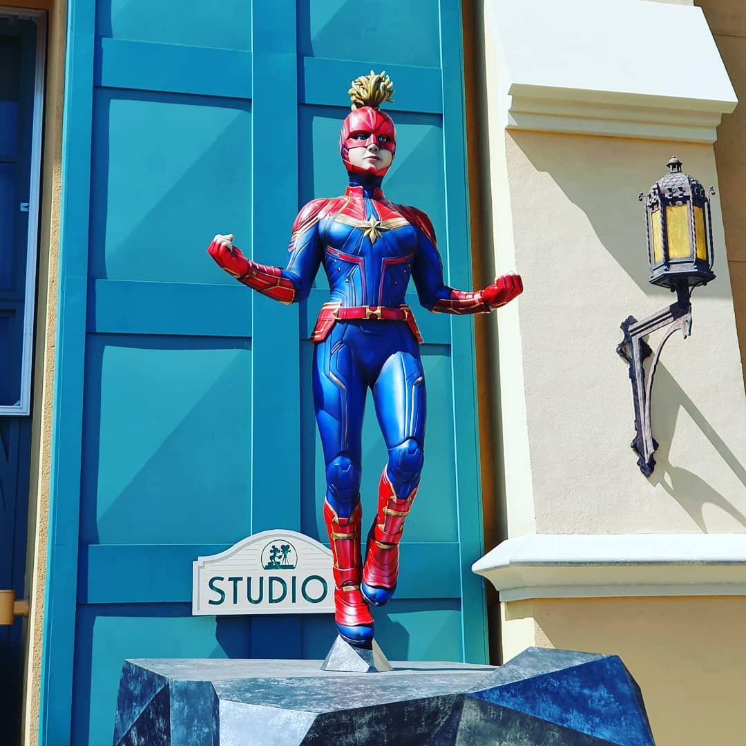 """Don't you 'lady' me, son. I'm an avenger."" #disneylandparis  #disneyland  #marvelavengers  #captainmarvel  #marvel"