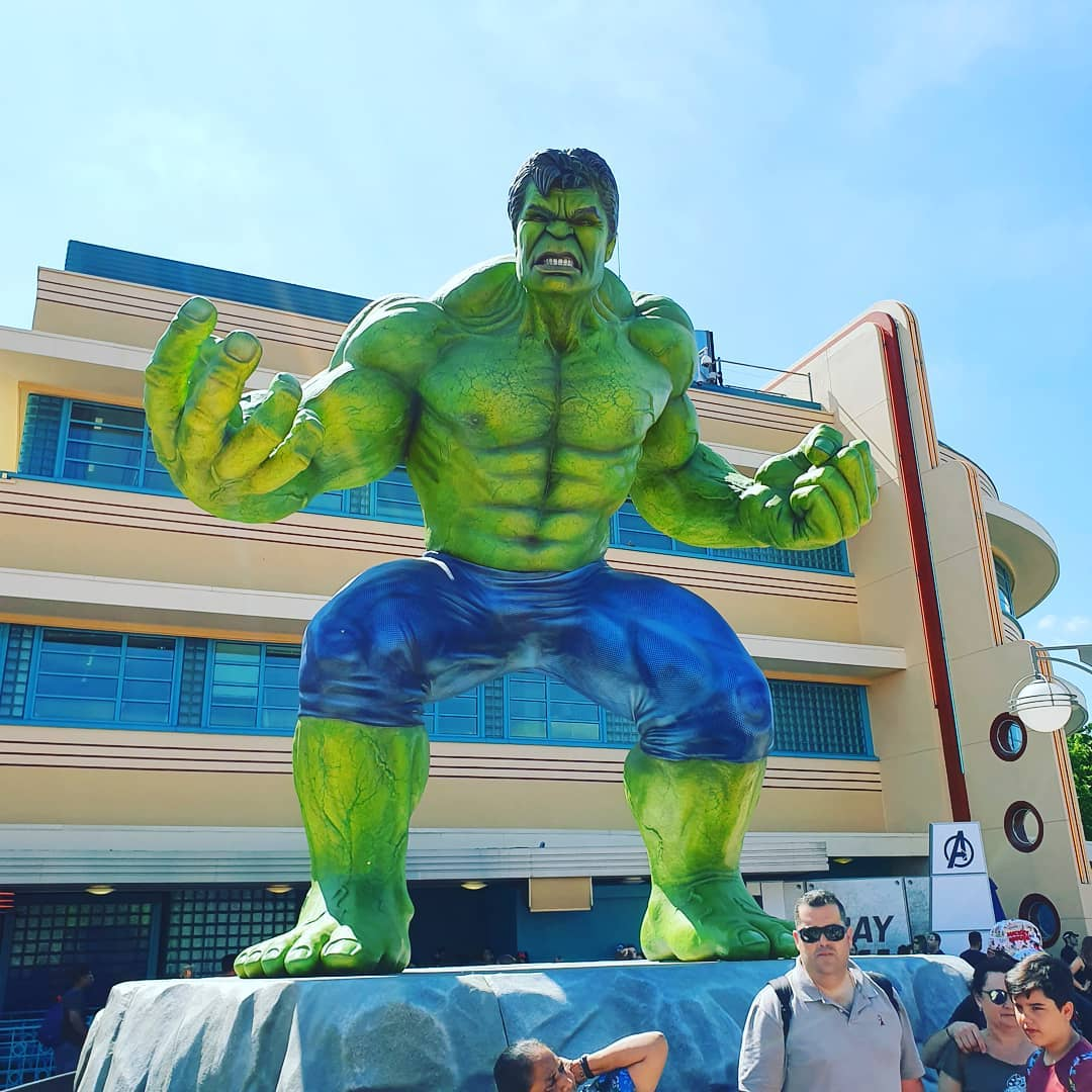 Hulk smash!  #hulk #avengers #marvel #disney #disneyland  #disneylandparis  #familytrip  #travel #vacation