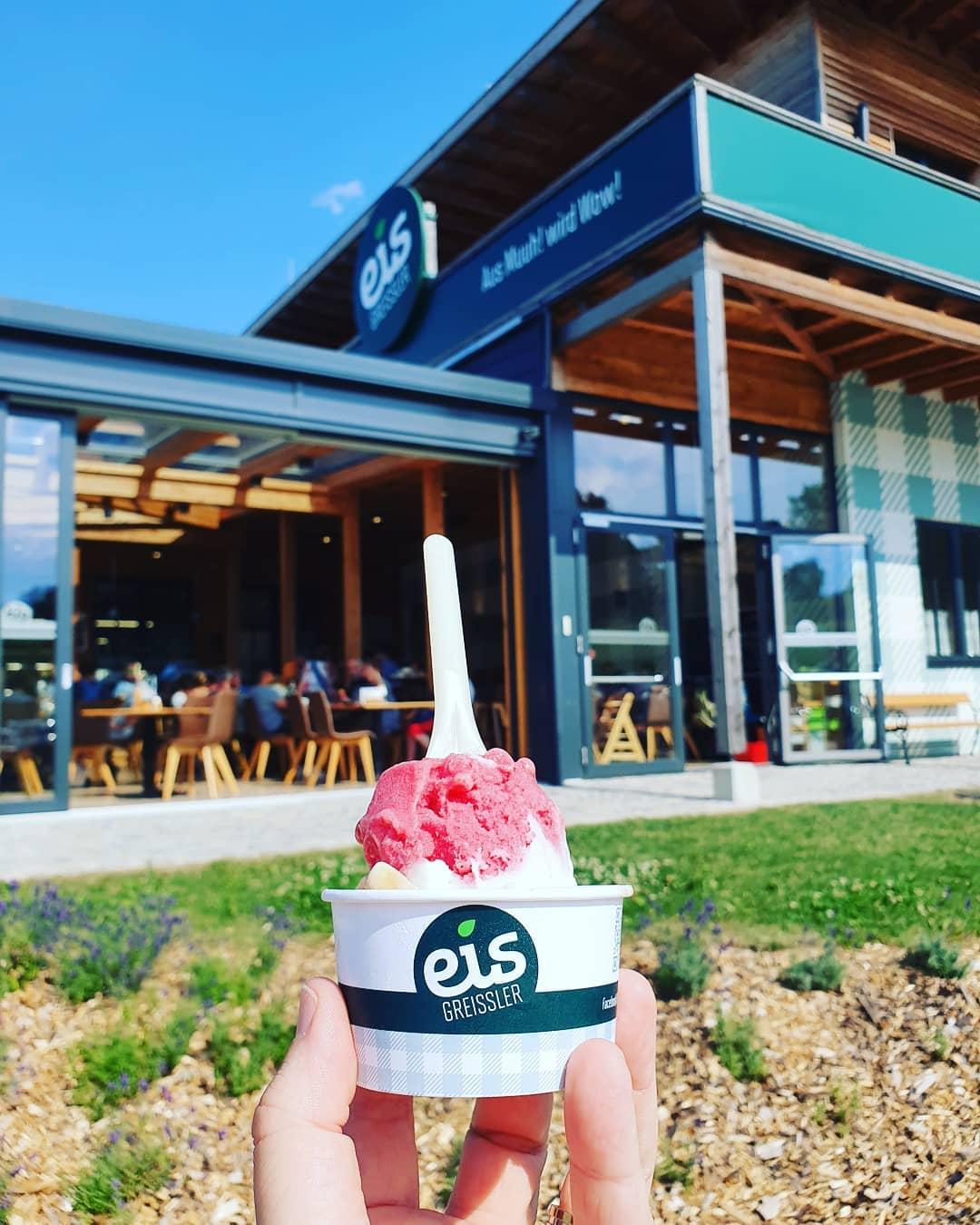 Aus Muuh! wird Wow! @eisgreissler #foodporn #eis #iceicebaby