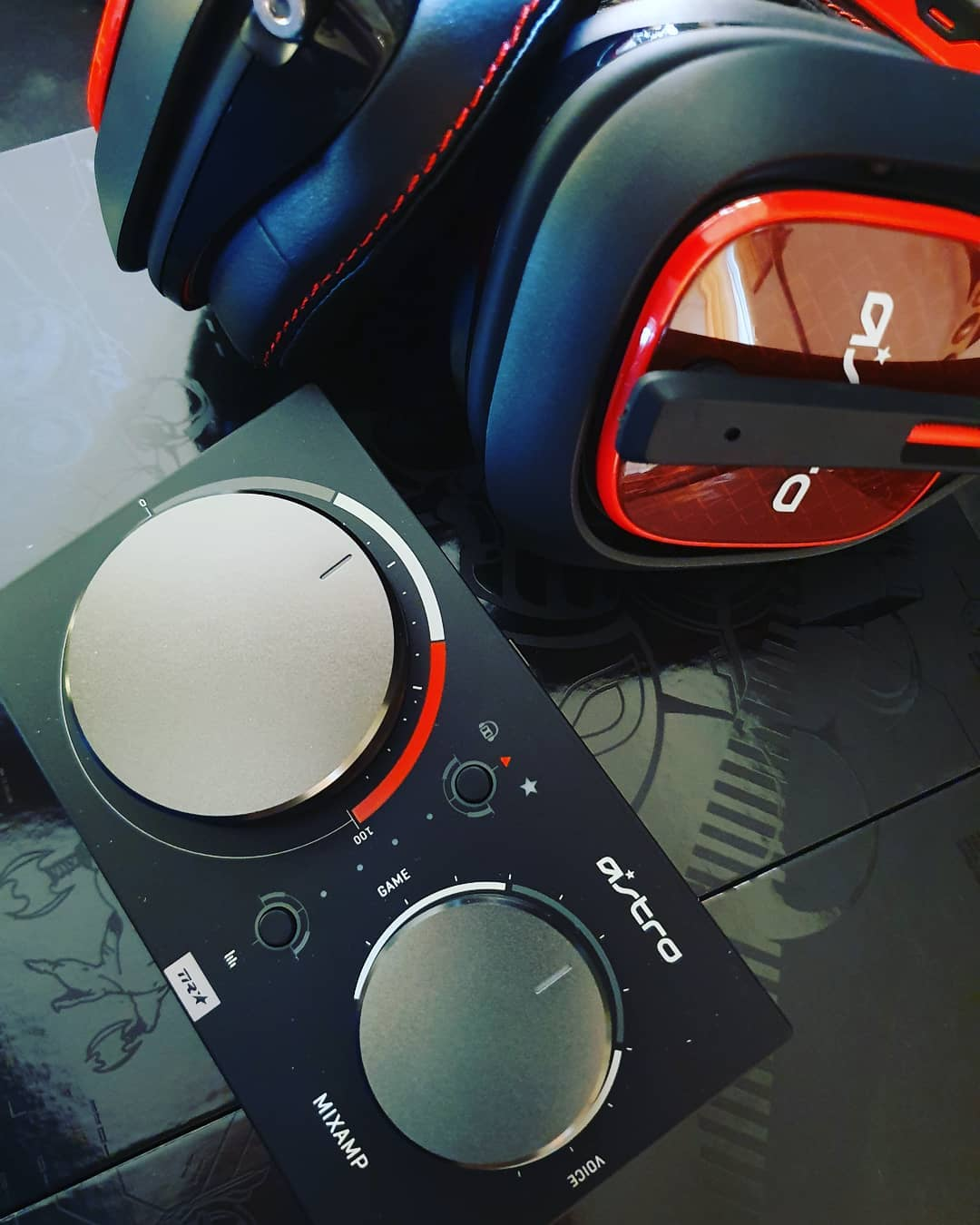 New #gaming Gear 😍 @astrogaming A40 + mixamp pro and Mod kit  #esports  #gaming #xbox #overwatch #autpbo