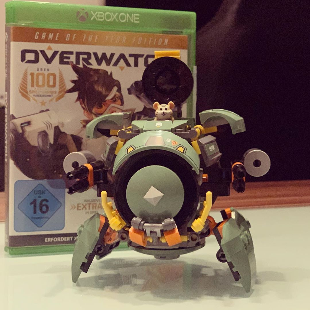 Combat mode engaged.  #overwatch #lego #xboxone