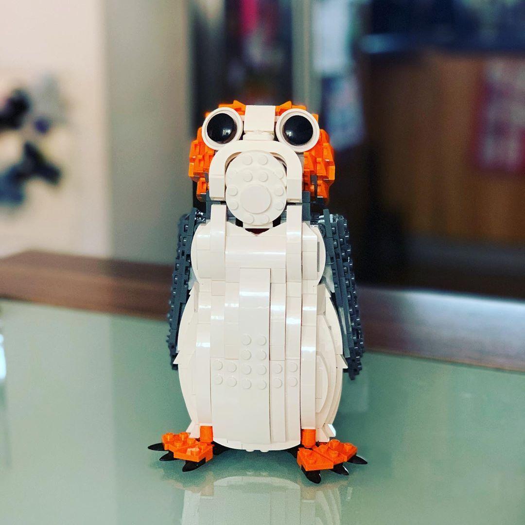 Willkommen in meiner #lego #starwars Sammlung kleiner #porg