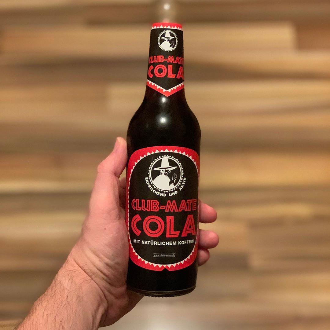 So muss Cola schmecken 😍🥰 #clubmate #coke