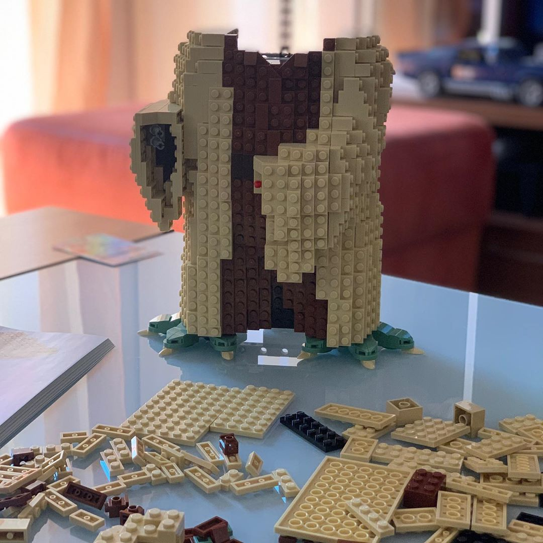Langsam wird's was mit meinem #lego #yoda 😊 #legostarwars #legoyoda #starwars #stayathome #stayhome