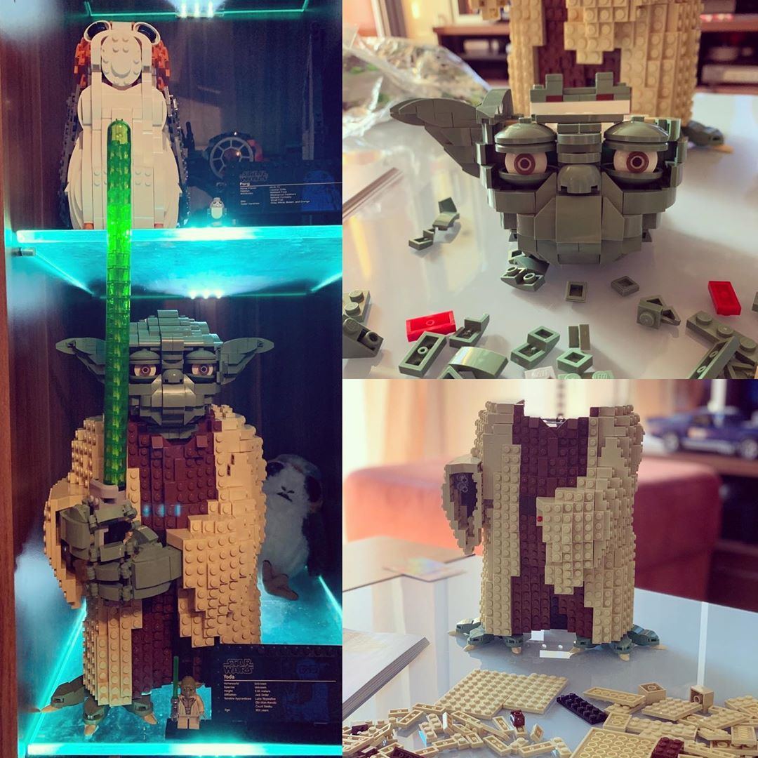 May the force be with you.. always #lego #legostarwars #legoyoda #legojedi