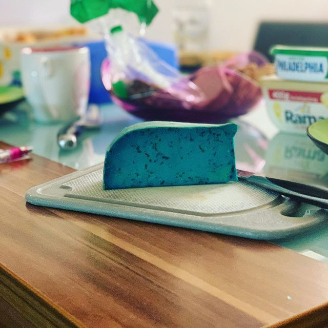 Der is ned giftig.. der schaut nur so Crazy aus 😊 #lavendelkäse von @the_crazy_cheese_manufacture
