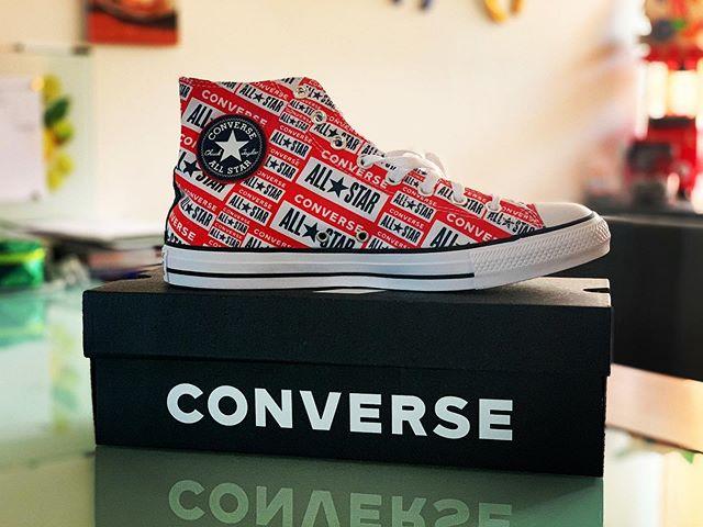 Meine letzten #converse sind schon ein paar Jahre her.. aber bei diesen konnte ich nicht Nein sagen 😊